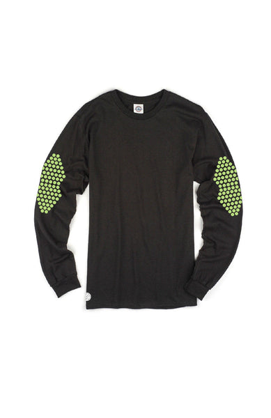Elbow Patch-Print Longsleeve T-shirt by Grubwear