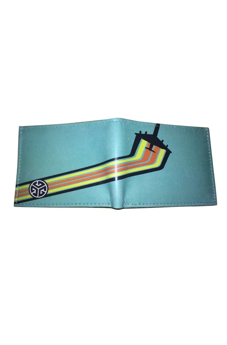 Grubwear Retro Jet-Airliner Leather Wallet