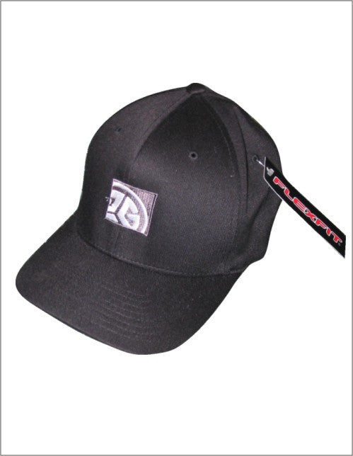 Dark Grey Flexfit Brand cap with GRUBWEAR Block logo embroidery