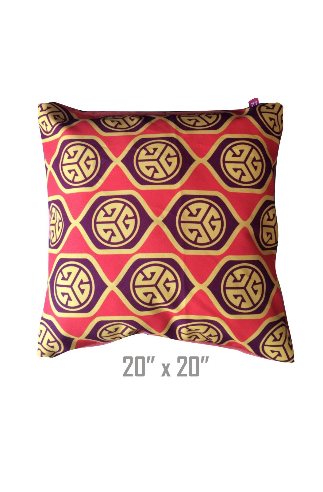 Grubwear TRI-G Retro Throw Pillow
