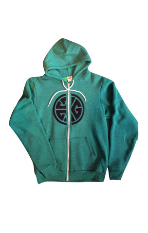 TRI-G Applique Zip Hoody | By Grubwear