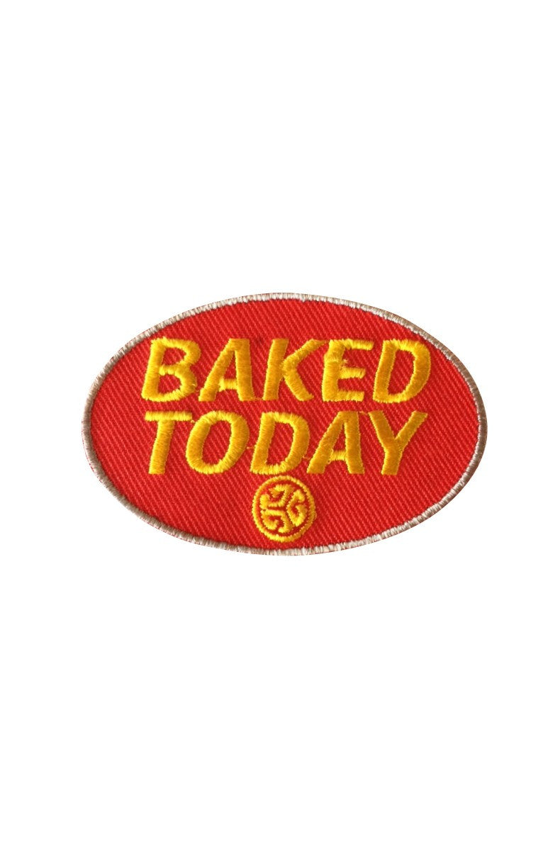 BAKED TODAY Patch by Grubwear