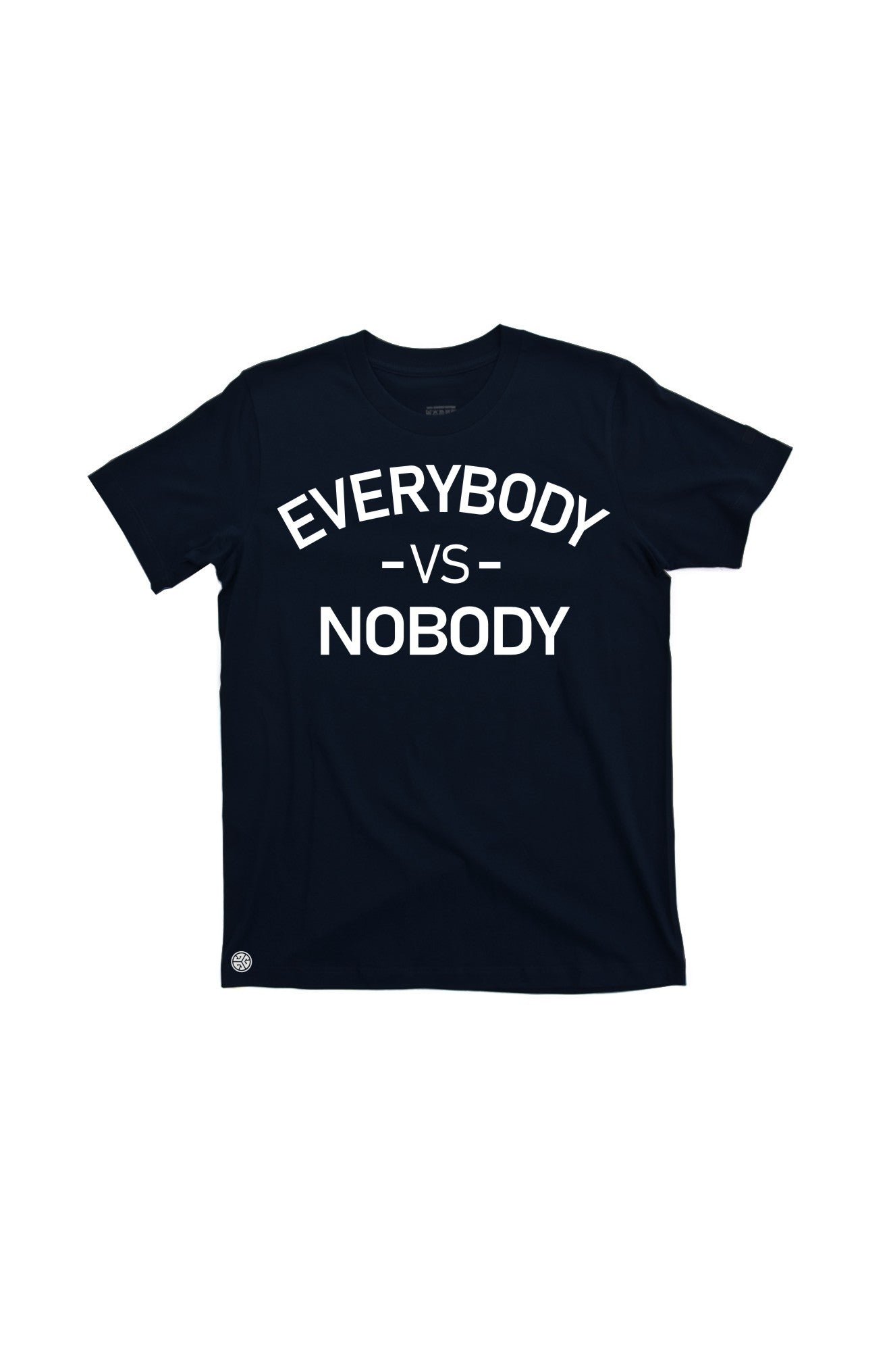 EVERYBODY NOBODY T-shirt by Grubwear