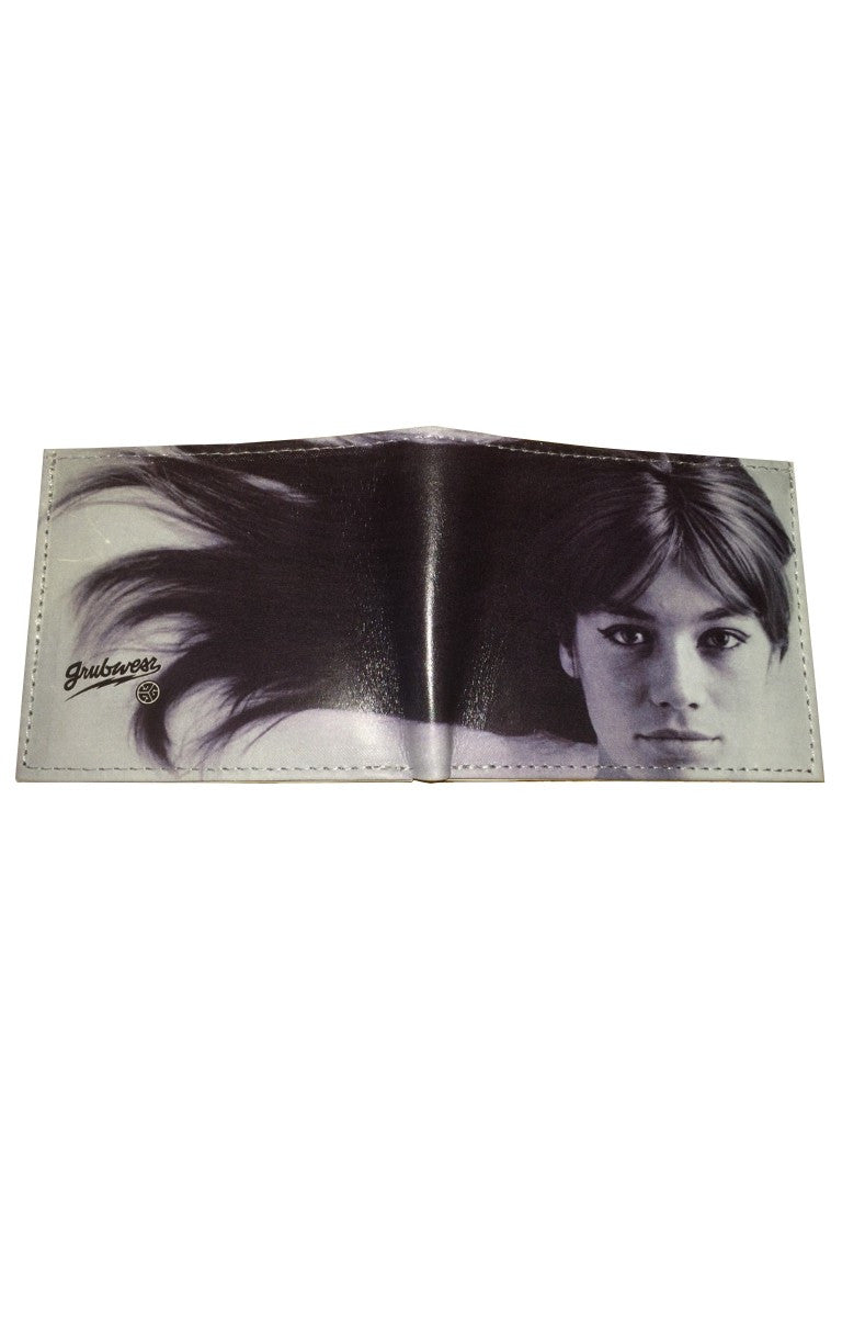Grubwear Francoise Hardy Leather Wallet