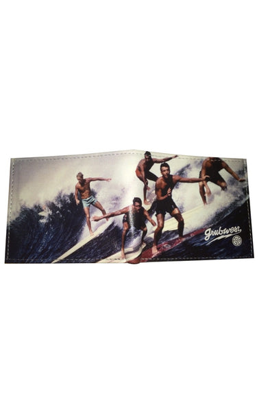 Grubwear Party Wave Leather Wallet
