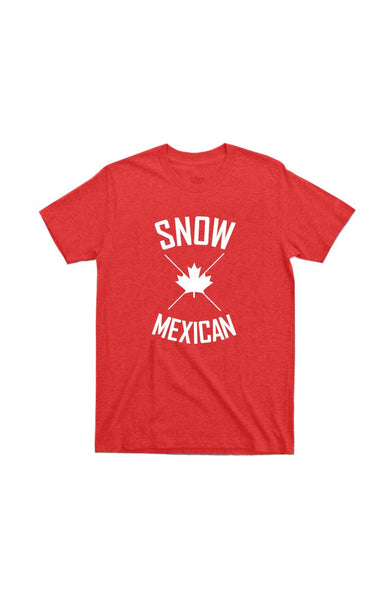 Snow Mexican T-shirt by Grubwear