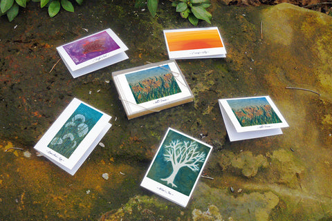 Beauties under the skies - Gift Box Set - 5 Cards