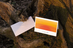 'Evening's Glory' Greeting Card