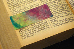 'Enfold' by S.R. Bricka, Bookmark in the Bible, Art for God's Glory