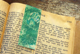 'Green Hands' Bookmark