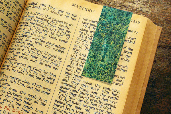 'The Eye' by S.R. Bricka, Bookmark in the Bible, Art for God's Glory