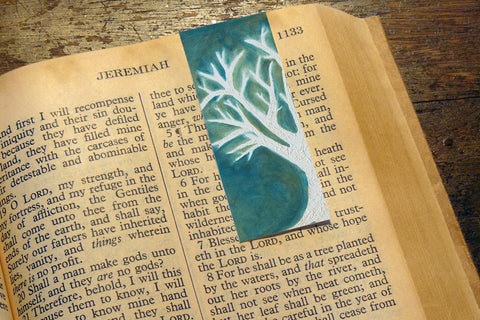 'Winter's Tree' by S.R. Bricka, Bookmark in the Bible, Art for God's Glory