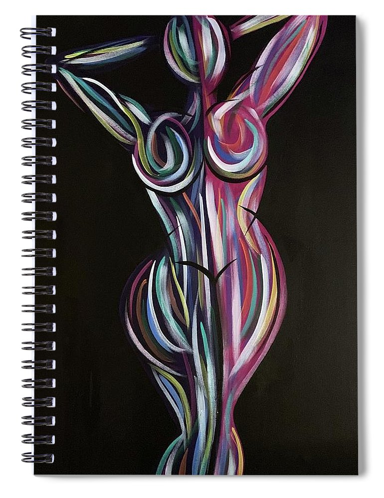 Color Me Bad No 25 - Spiral Notebook