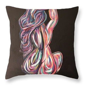 Color Me Bad No 5 - Throw Pillow