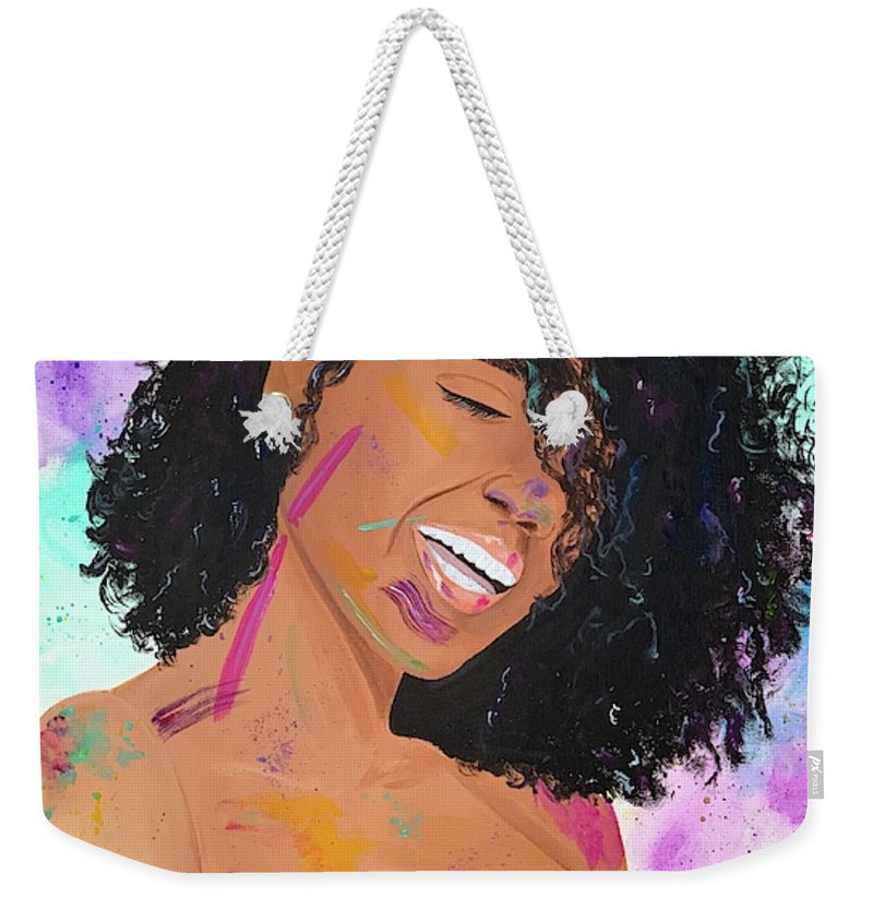 Happy - Weekender Tote Bag