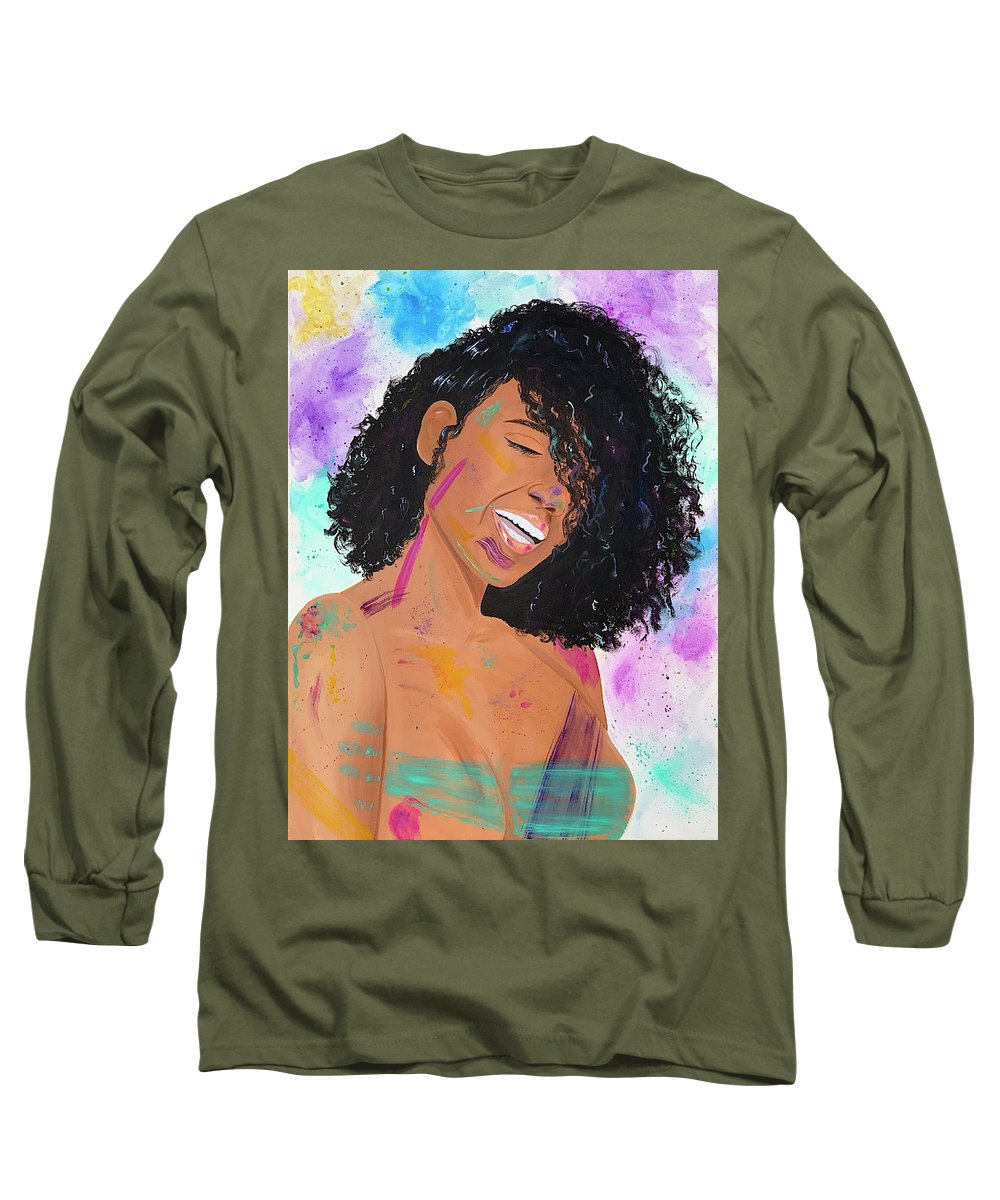 Happy - Long Sleeve T-Shirt