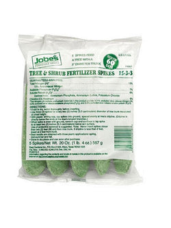 Jobe's Tree & Shrub Fertilizer Spikes - 5 Pack