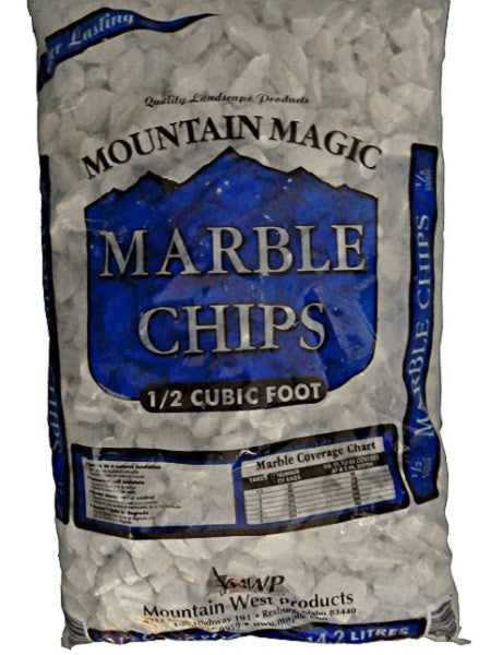 Mountain Magic Marble Chips 0.5 Cubic Feet