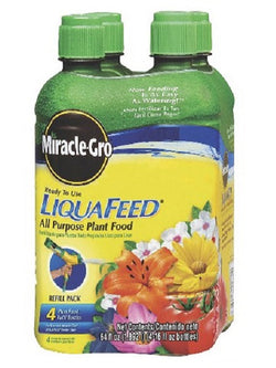 Miracle-Gro® LiquaFeed® Advance™ All Purpose Refill 4 Pack