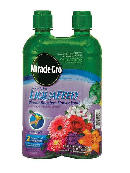 Miracle-Gro® LiquaFeed® Advance™ Bloom Booster Flower Feed Refill 2 Pack