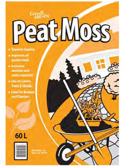 Green Harvest Peat Moss - 60L