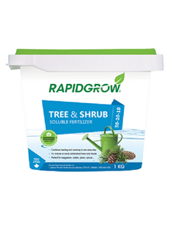 RAPIDGROW TREE AND SHRUB FERTILIZER 1KG