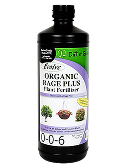EVOLVE Organic Rage Plus 0-0-6