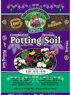 Groundskeeper's Secret Organic Soil 40 Litre Bag