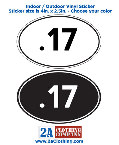 .17 Oval Sticker