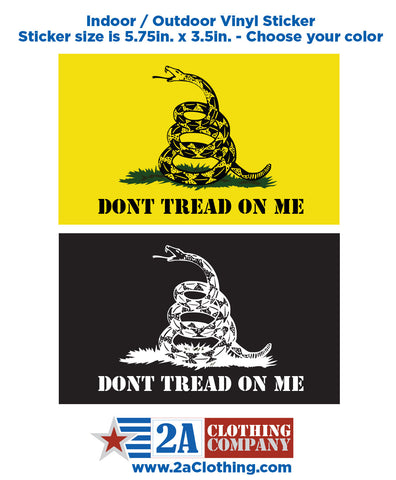 Dont Tread on Me - Sticker