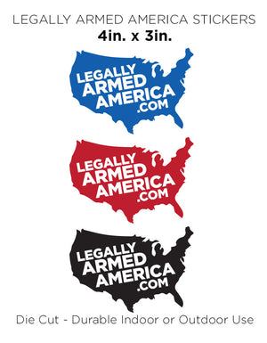 Legally Armed America - USA Logo