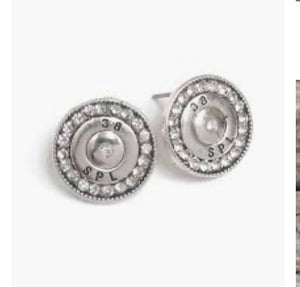 MAKE MY NIGHT 38 SPECIAL CRYSTAL RHINESTONE STUD EARRINGS