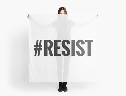 """#Resist"" Scarves by JPDesignWorks 
