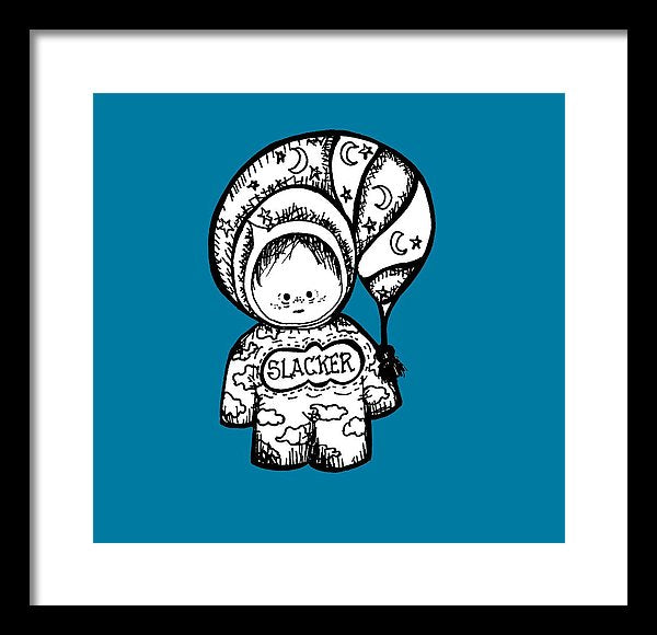 Lazypants - Framed Print