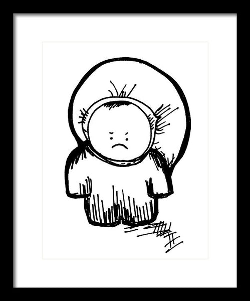 Lil'pants - Framed Print