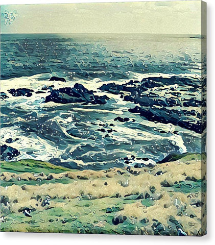 Off The Coast Of Australia - Canvas Print