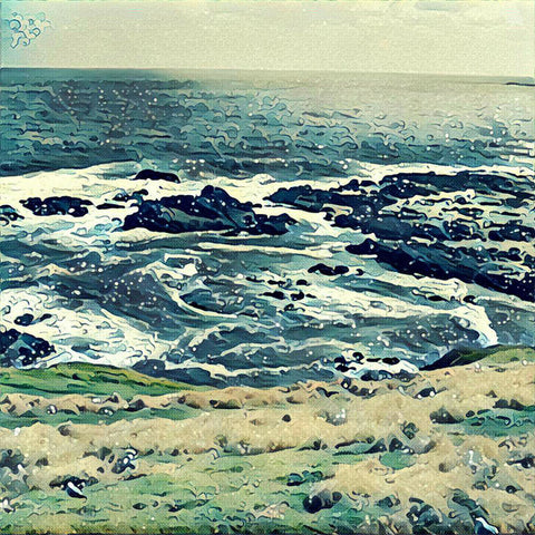 Off The Coast Of Australia - Art Print