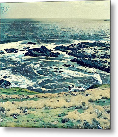 Off The Coast Of Australia - Metal Print