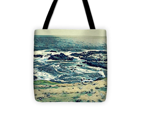 Off The Coast Of Australia - Tote Bag