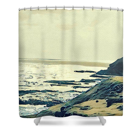 On The Coast - Shower Curtain