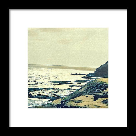On The Coast - Framed Print