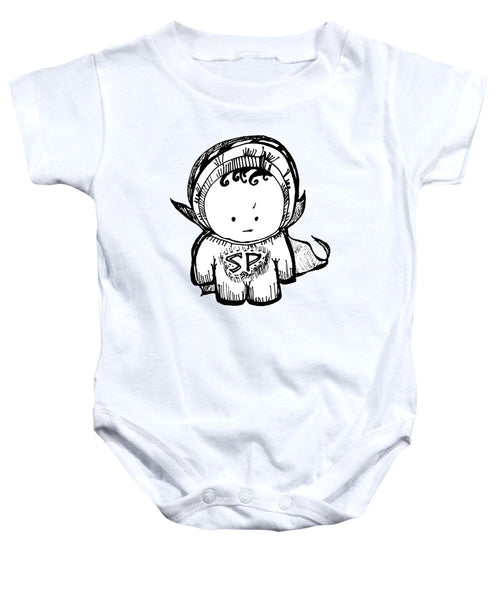 Superpants - Baby Onesie
