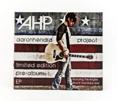 LIMITED EDITION AUTOGRAPHED FLAG EP