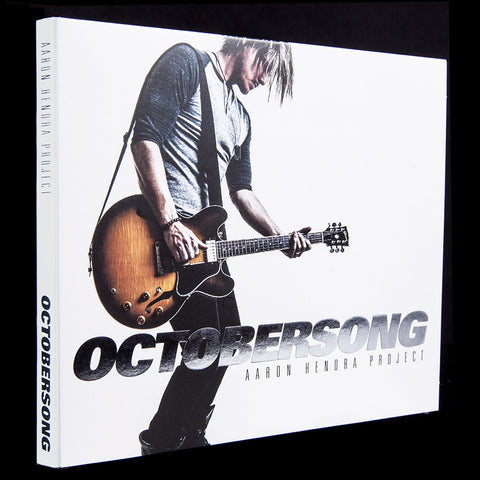 OCTOBERSONG LIMITED EDITION [Silver Foil] Autographed CD