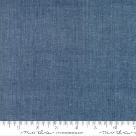 Moda Chambray in Indigo