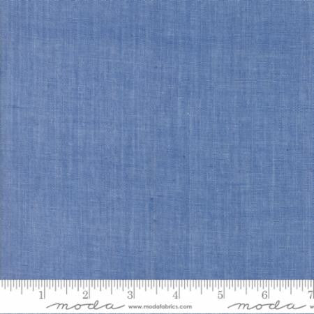 Moda Chambray in Medium Blue