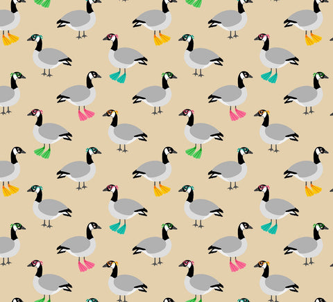 Swimming Gaggle of Geese - Andie Hanna - Purely Canadian Eh!