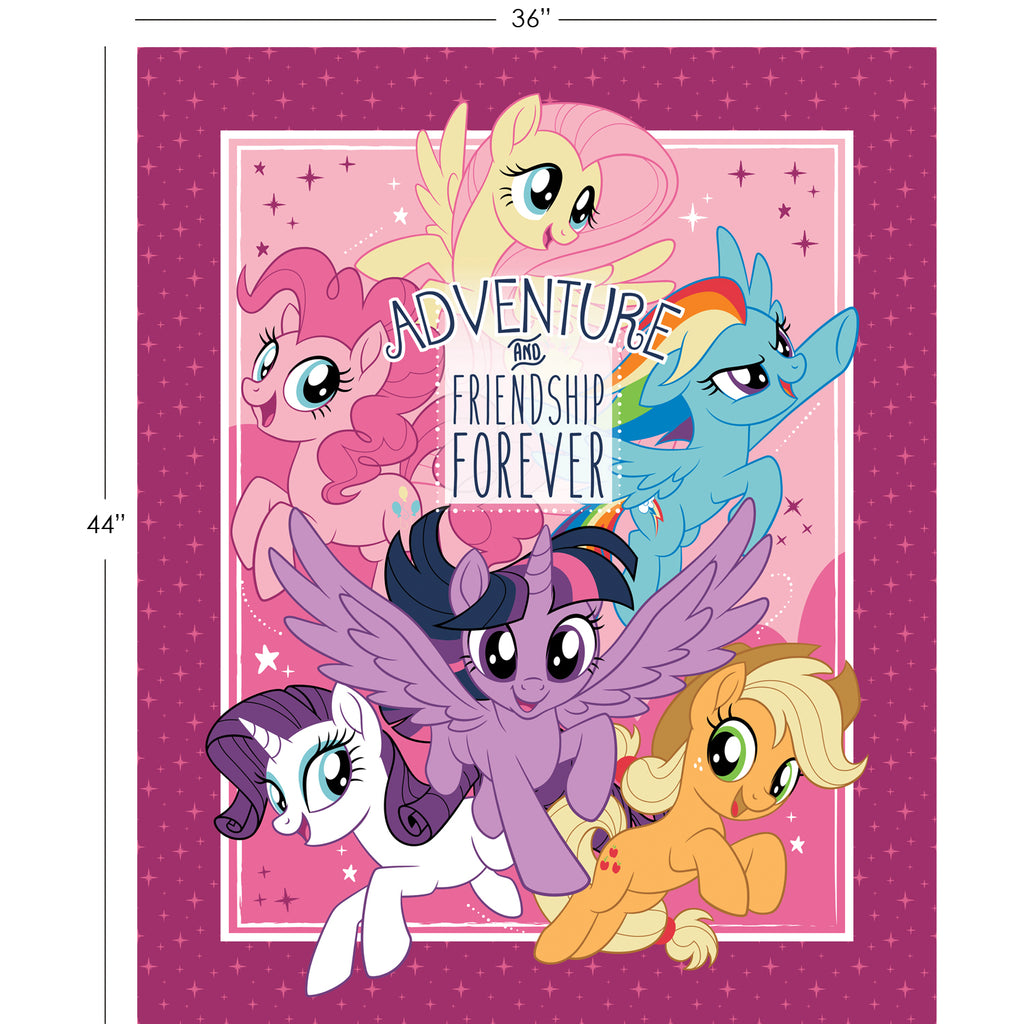 Adventure and Friendship Panel - My Little Pony - Camelot (Only 2 left in stock!)