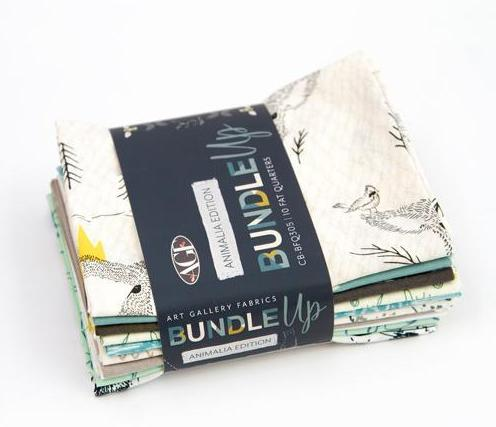 Bundle Up - Animalia Edition - Fat Quarter Bundle