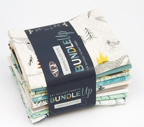 Bundle Up - Animalia Edition - Half Yard Bundle